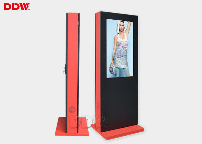 42'' Outdoor Digital Signage Display Kiosk Floor Stand Portrait 1920x1080 DW-AD4201SNO